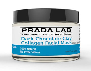 Dark Chocolate Clay Collagen Facial Mask