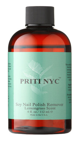 Soy Nail Polish Remover - Lemongrass scent