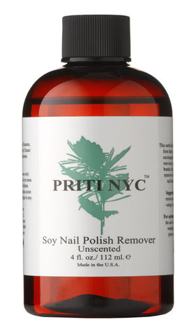Soy Nail Polish Remover - Unscented