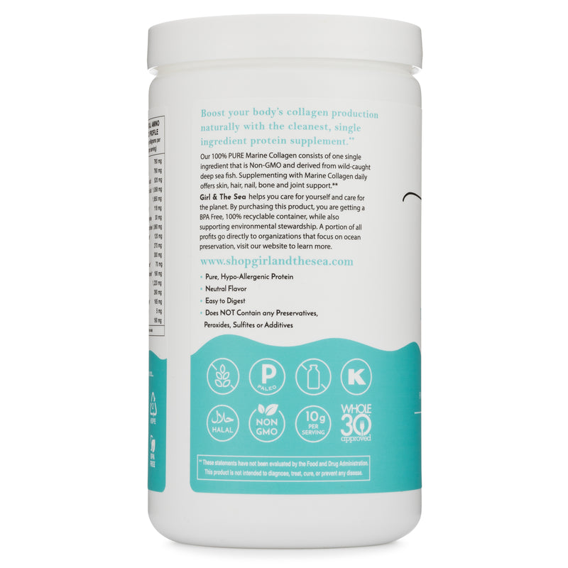 100% PURE Marine Collagen - 3 Pack Bundle & Save