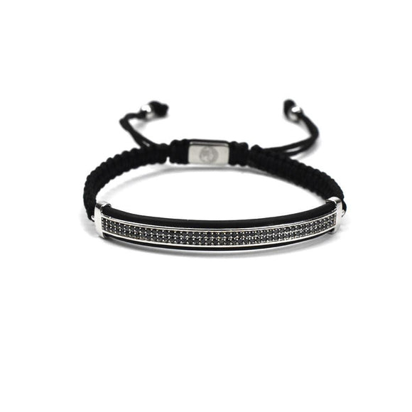 Pulsera Royal Collection Placa Plata