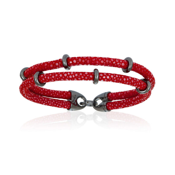 Pulsera Double Bone