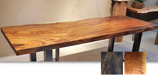 Acacia Wood Slab Table Top