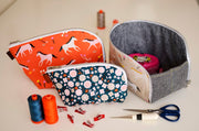 Open Out Box Pouch - Sewing Pattern - Aneela Hoey - Paper Pattern