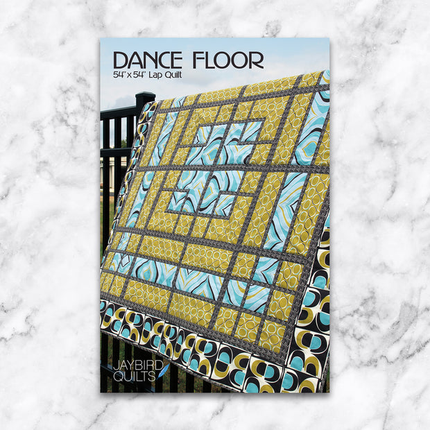 Dance Floor - Jaybird Quilts - Paper Pattern - JBQ 102