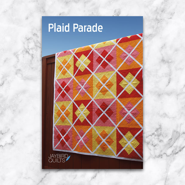 Plaid Parade - Jaybird Quilts - Paper Pattern - JBQ 109
