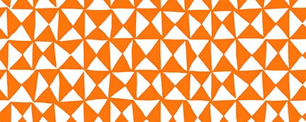 Halloween Night - Hourglass in Orange - 120-21319 - Half Yard