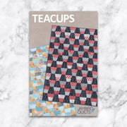 Teacups - Jaybird Quilts - Paper Pattern - JBQ 122