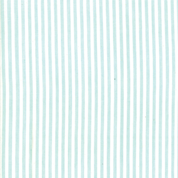 Bonnie and Camille Wovens - Stripe in Aqua - Bonnie and Camille for Moda - 12405 13 - Half Yard