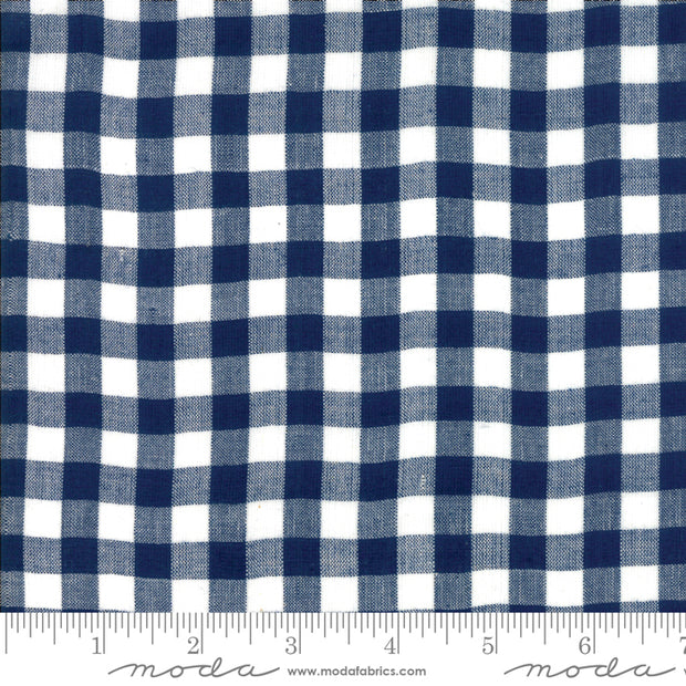 Bonnie and Camille Wovens - Gingham in Navy - Bonnie and Camille for Moda - 12405 30 - Half Yard