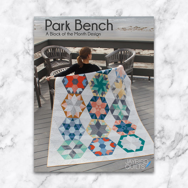 Park Bench - Jaybird Quilts - Printed Quilt Program - JBQ 139