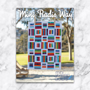 Mini Radio Way - Jaybird Quilts - Paper Pattern - JBQ 140