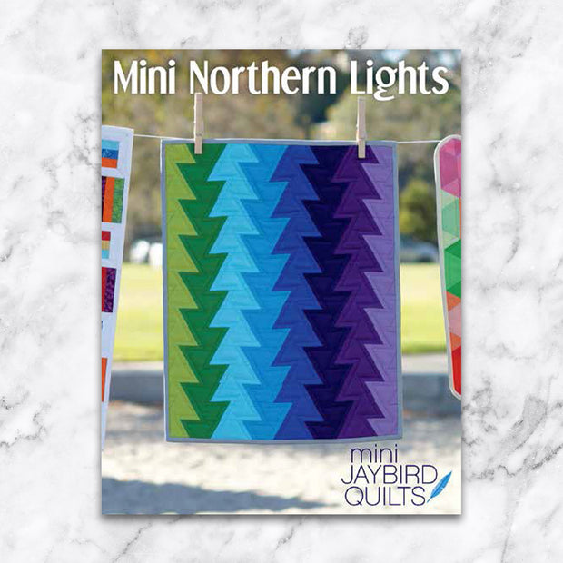 Mini Northern Lights - Jaybird Quilts - Paper Pattern - JBQ 141