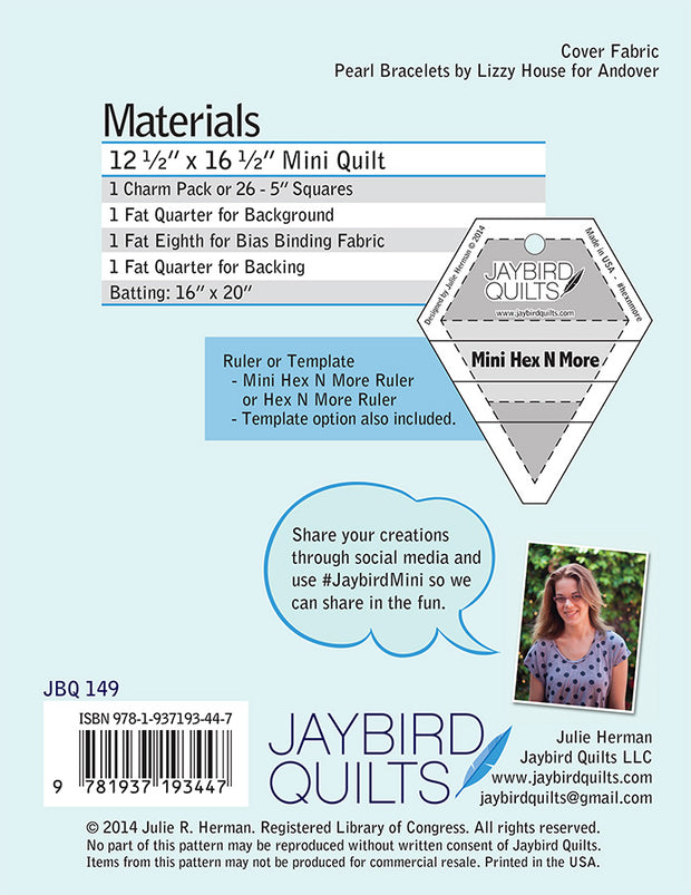 Mini Science Fair - Jaybird Quilts - Paper Pattern - JBQ 149