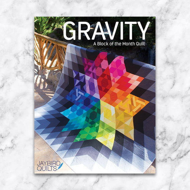 Gravity - Jaybird Quilts - Printed Quilt Program - JBQ 150