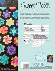 Sweet Tooth - Jaybird Quilts - Printed Quilt Program - JBQ 159
