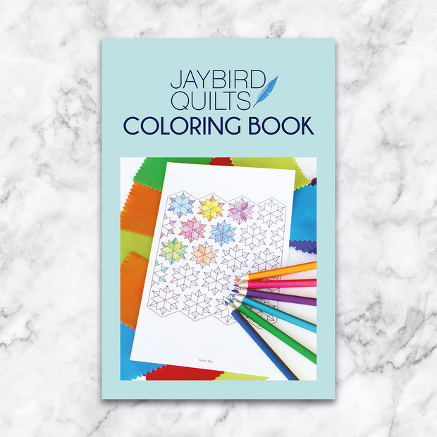 Coloring Book - Jaybird Quilts - JBQ 162