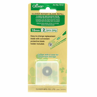 Clover - 18mm Rotary Cutter - Refills Only