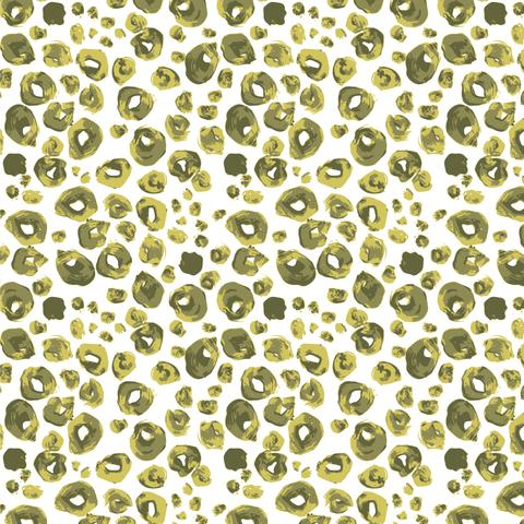 Grasslands - Spotties in Green - Sarah Watts for Cloud 9 Fabrics - 226975 - Half Yard