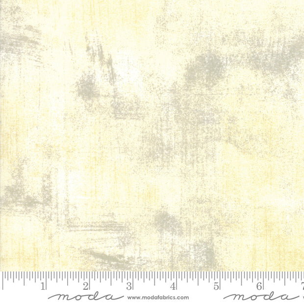 Grunge Basics - Grunge in Cream - Basic Grey for Moda Fabrics - 30150 160 - Half Yard