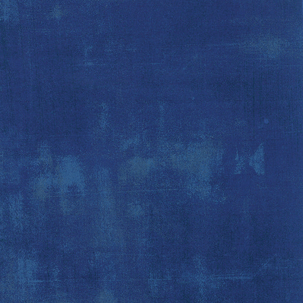 Grunge Basics - Grunge in Cobalt - Basic Grey for Moda Fabrics - 30150 223 - Half Yard