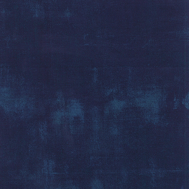 Grunge Basics - Grunge in Navy - Basic Grey for Moda Fabrics - 30150 225 - Half Yard