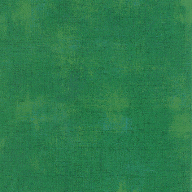 Grunge Basics - Grunge in Kelly Green - Basic Grey for Moda Fabrics - 30150 232 - Half Yard