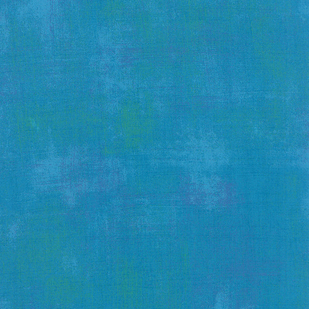 Grunge Basics - Grunge in Turquoise - Basic Grey for Moda Fabrics - 30150 298 - Half Yard