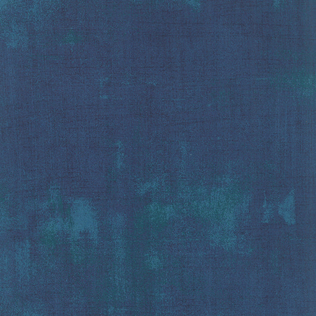 Grunge Basics - Grunge in Prussian Blue - Basic Grey for Moda Fabrics - 30150 307 - Half Yard