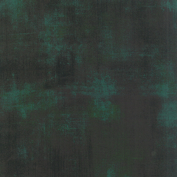 Grunge Basics - Grunge in Christmas Green - Basic Grey for Moda Fabrics - 30150 308 - Half Yard