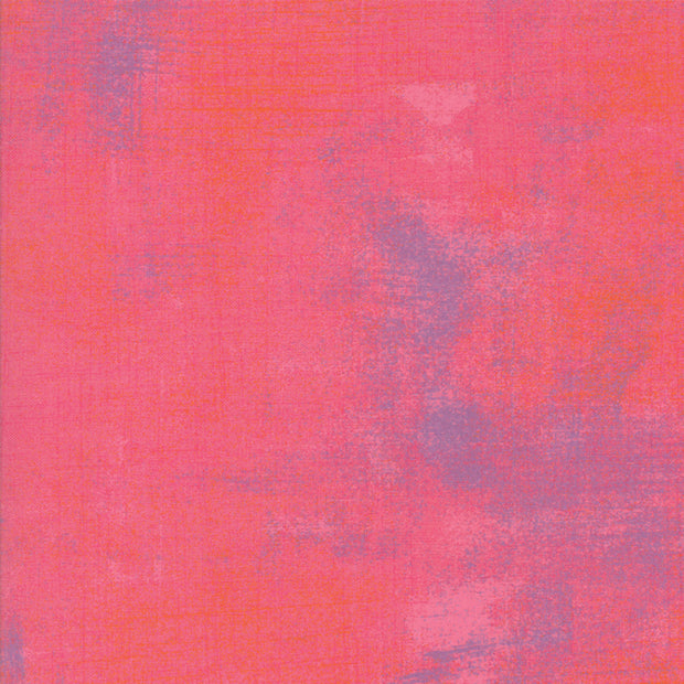 Grunge Basics - Grunge in Calypso Coral - Basic Grey for Moda Fabrics - 30150 327 - Half Yard