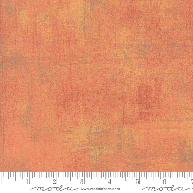 Kitty Corn - Grunge Solids in Cantaloupe - Urban Chiks for Moda Fabrics - 30150-424 - Half Yard