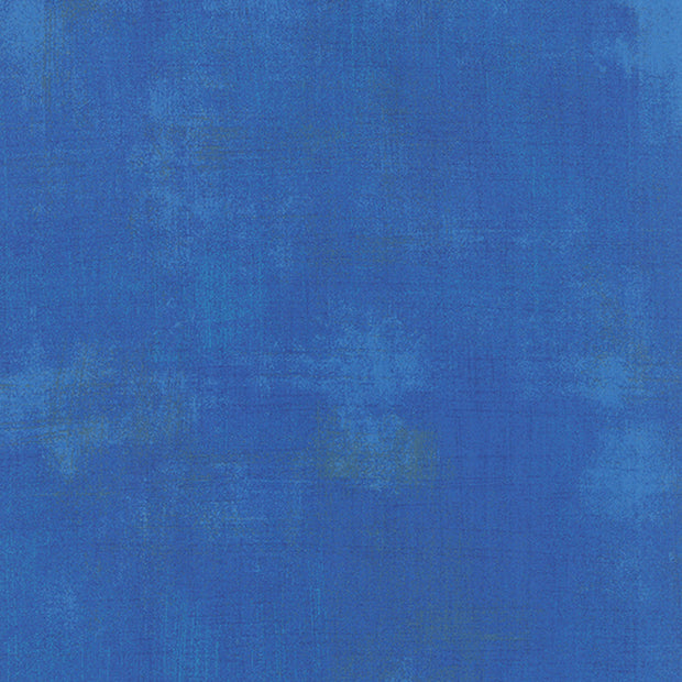 Grunge Basics - Grunge in Royal Blue - Basic Grey for Moda Fabrics - 30150 300 - Half Yard