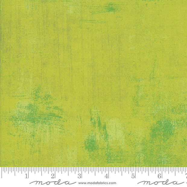 Grunge Basics - Grunge in Lime Punch - Basic Grey for Moda Fabrics - 30150 412 - Half Yard