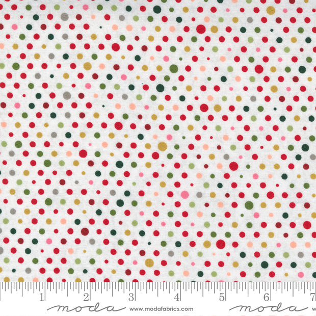 Hustle and Bustle - Party in Blizzard - Basic Grey for Moda Fabrics - 30666-11 - Half Yard