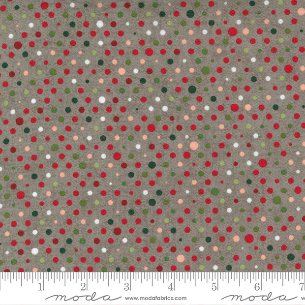 Hustle and Bustle - Party in Tinsel - Basic Grey for Moda Fabrics - 30666-17 - Half Yard