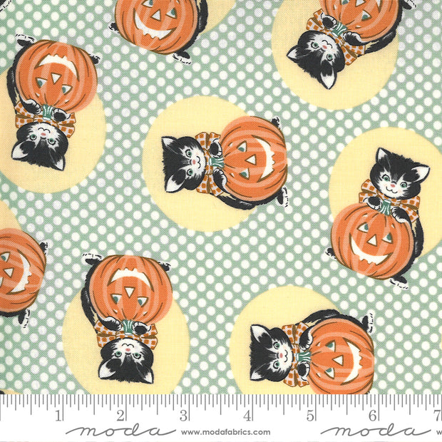 Kitty Corn - Kitty in Goblin - Urban Chiks for Moda Fabrics - 31171-15 - Half Yard
