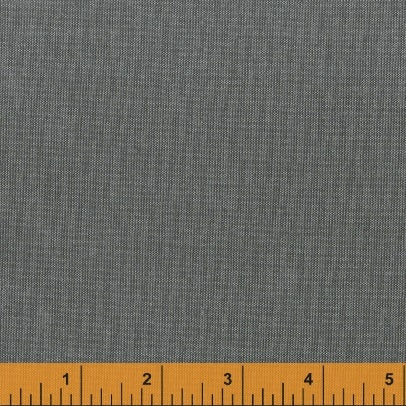 Artisan Cotton - Gray/Black - Another Point of View for Windham - 40171-1 - Half Yard