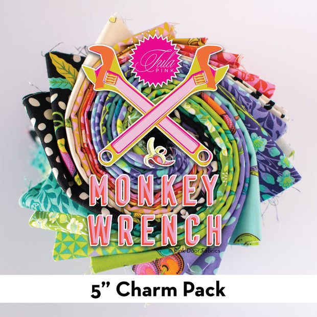 Monkey Wrench - 5 Inch Charm Pack - 42 pcs. - FB6CPTP.MONKE