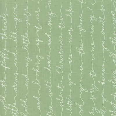 Little Tree - Letter in Pine - Lella Boutique for Moda Fabrics - 5093 12 - Half Yard