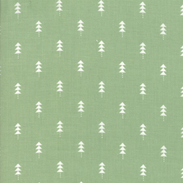Little Tree - Tree in Pine - Lella Boutique for Moda Fabrics - 5094 12 - Half Yard