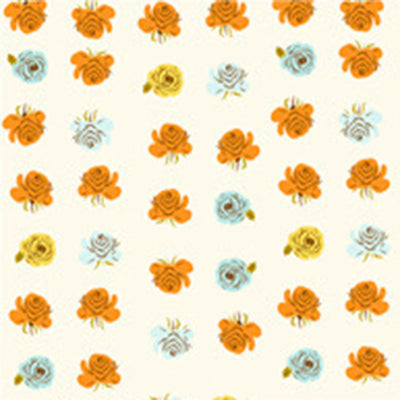 PRESALE - Far Far Away II - Roses in Aqua - Heather Ross for Windham - 51203-2 - Half Yard