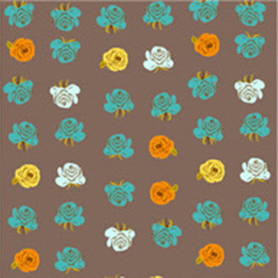 Far Far Away II - Roses in Smoke - Heather Ross for Windham - 51203-7 - Half Yard