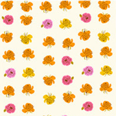 Far Far Away II - Roses in Pink - Heather Ross for Windham - 51203-9 - Half Yard