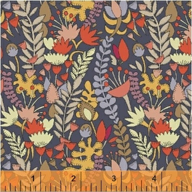 Fantasy - Florabundance in Shadow - Sally Kelly - 51289-2 - Half Yard