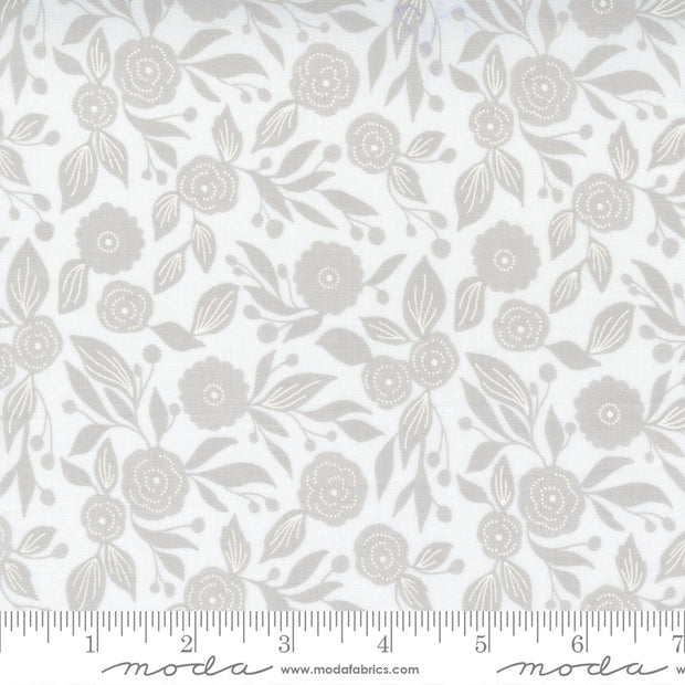 Christmas Morning - Winter Flora in Snow - Lella Boutique for Moda Fabrics - 5143-11 - Half Yard