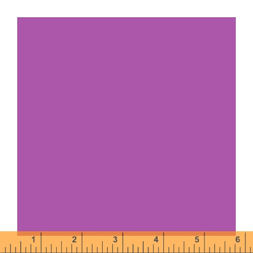 Ruby and Bee Solids - Ruby and Bee Solid in Salvia - Windham Fabrics - 51583-13 - Half Yard