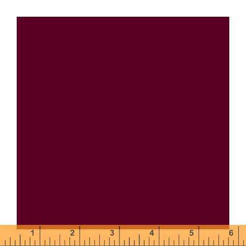 Ruby and Bee Solids - Ruby and Bee Solid in Grape Jelly - Windham Fabrics - 51583-37 - Half Yard