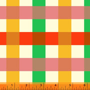Malibu - Big Gingham in Green - Heather Ross for Windham - 52148-11 - Half Yard