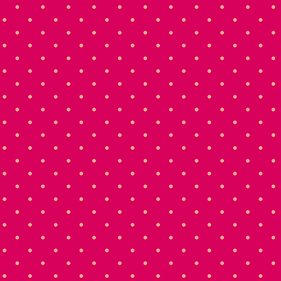 Sweet Shoppe Too - Candy Dot in Ruby - Andover - A-9235-E2 - Half Yard